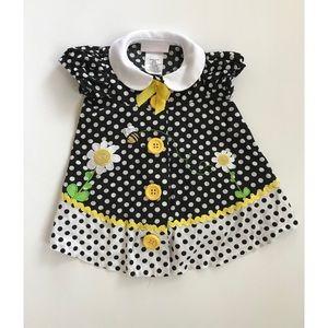 Bonnie Baby Dress.   6-9M